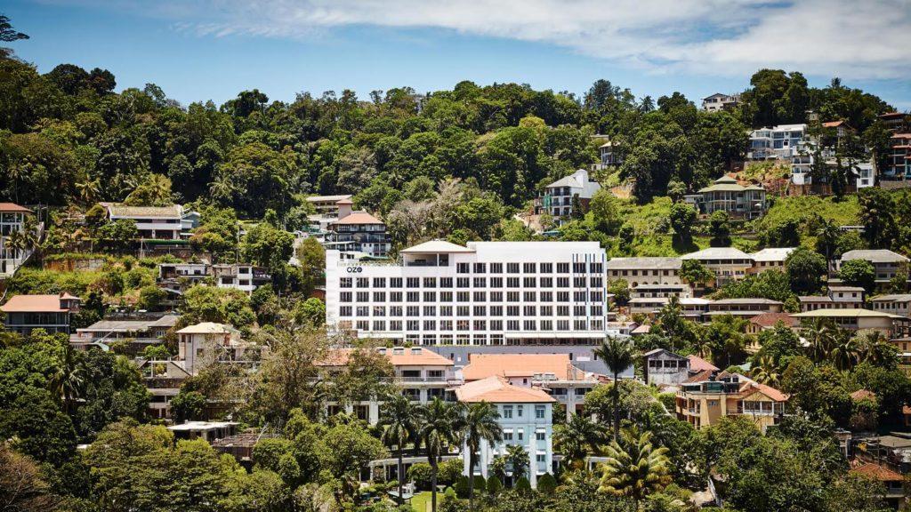 Sri Lanka - Kandy - 1567 - Ozo Kandy Hotel aerial view