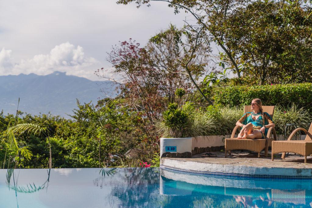 Costa Rica - Heredia - 1570 - Finca Rosa Blanca Pool