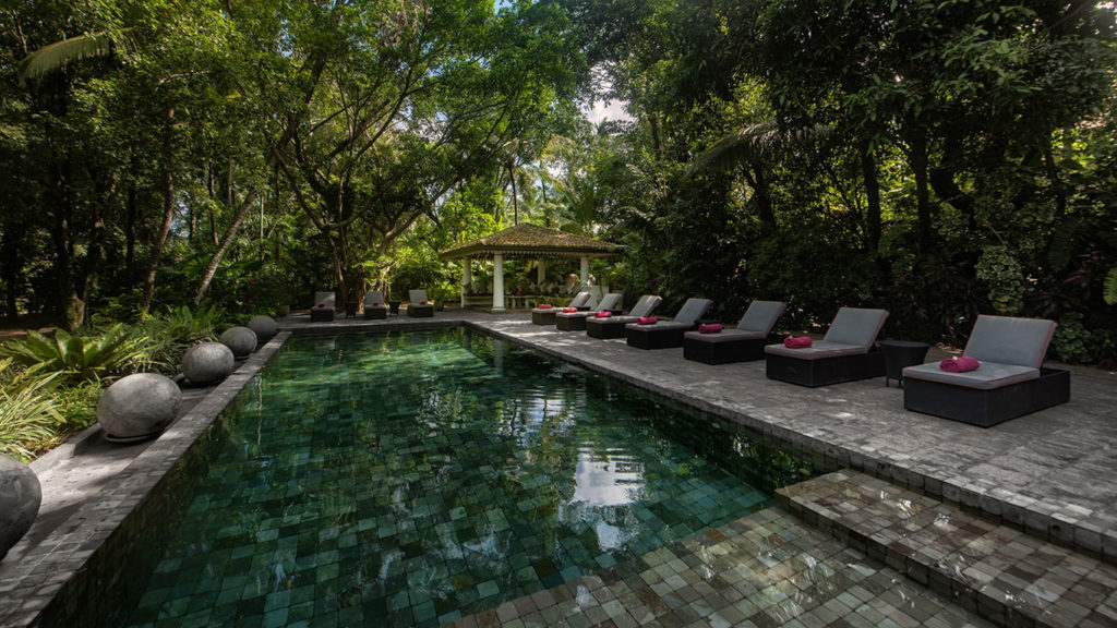 Sri Lanka - Kotugoda - 1567 - The Wallawwa - Swimming Pool
