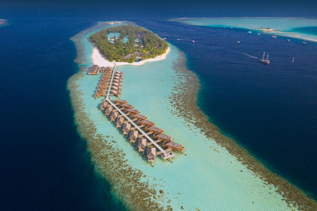 Maldives - Alif Dhaal Atoll - 1567 - Vilamendhoo Island Resort and Spa aerial