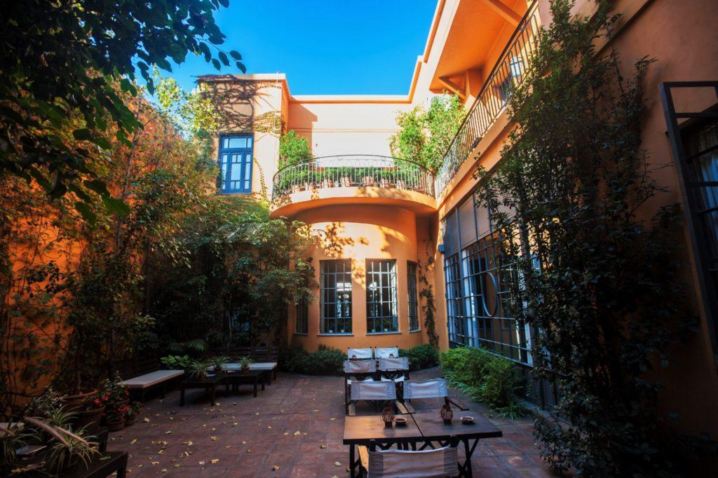 Argentina - NOA Salta - 1584 - Legado Mitico Garden Courtyard