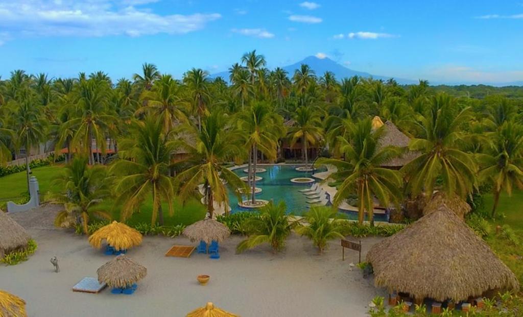 Costa Rica - Costa del Sol - 10024 - Tortuga Village From Above