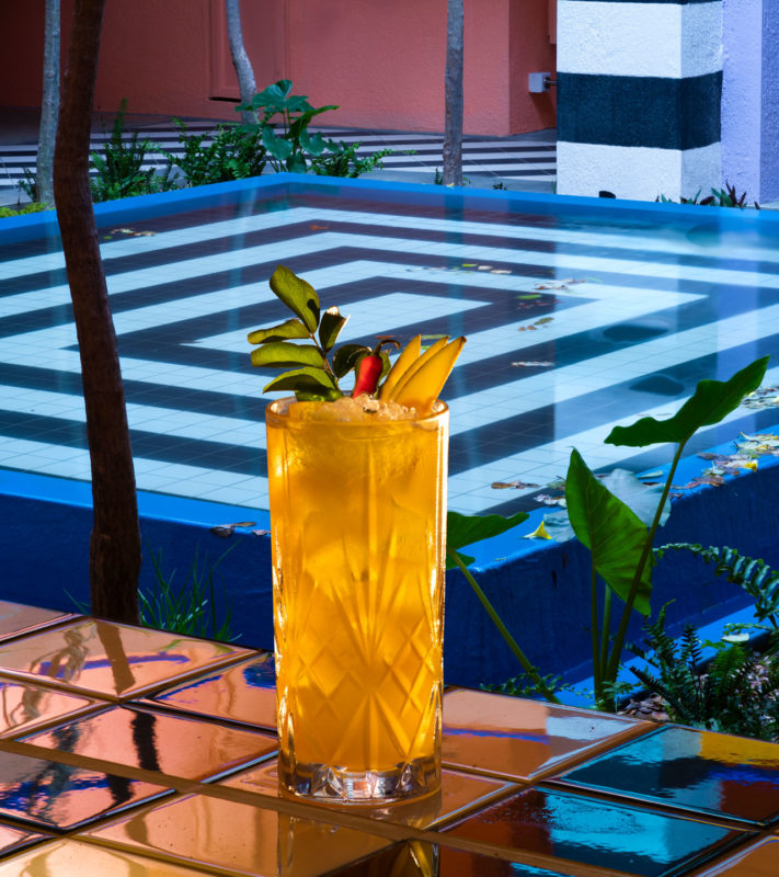 Mauritius - East Coast - 3996 - Pool Bar