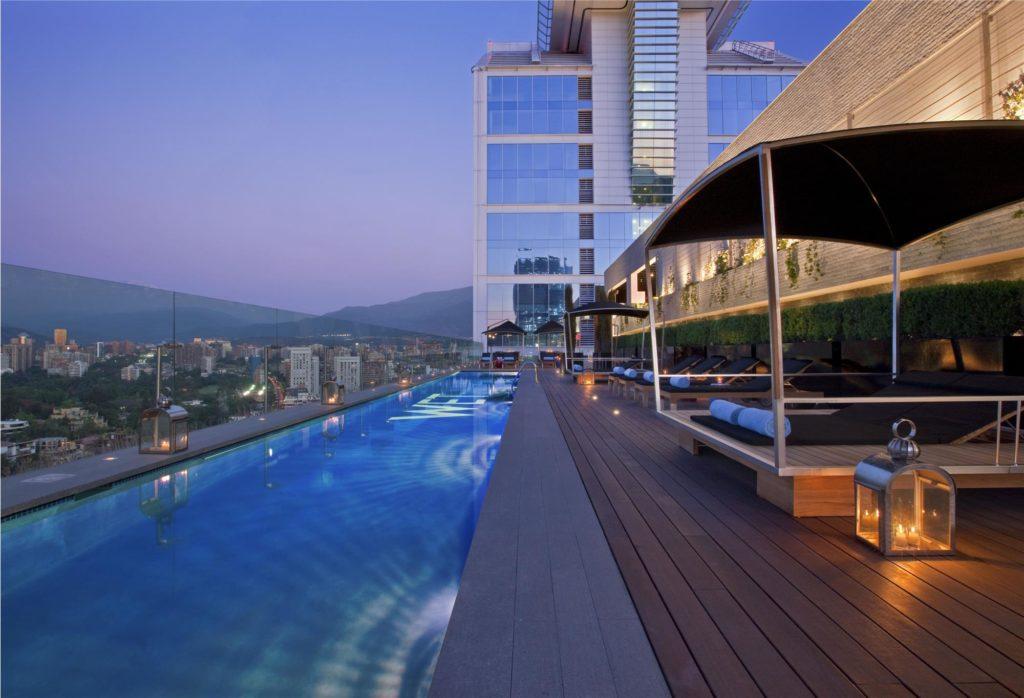 Chile - Santiago - 1560 - W Santiago Rooftop Pool
