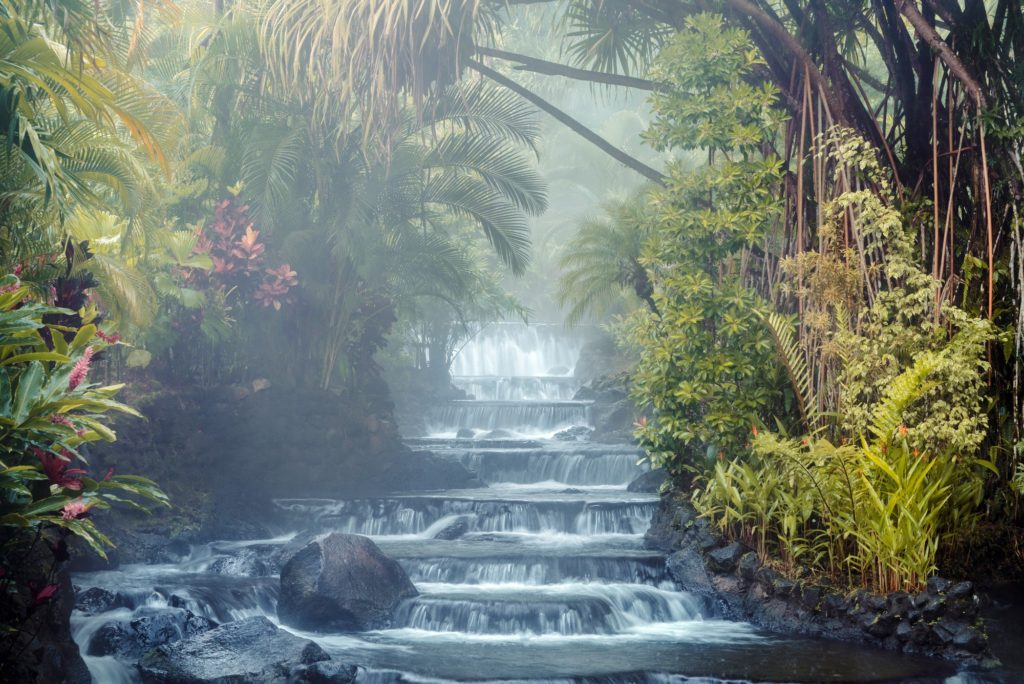 Costa Rica- Arenal- 1570 - Waterfall