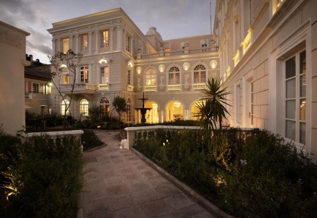 Ecuador - 1557 - Adventure Experience - Casa Gangotena Quito - Exterior of hotel