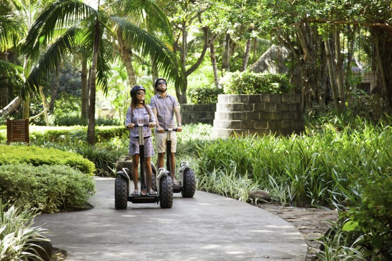 Mauritius - South Coast - 3996 - Heritage Awali - Segway in the gardens