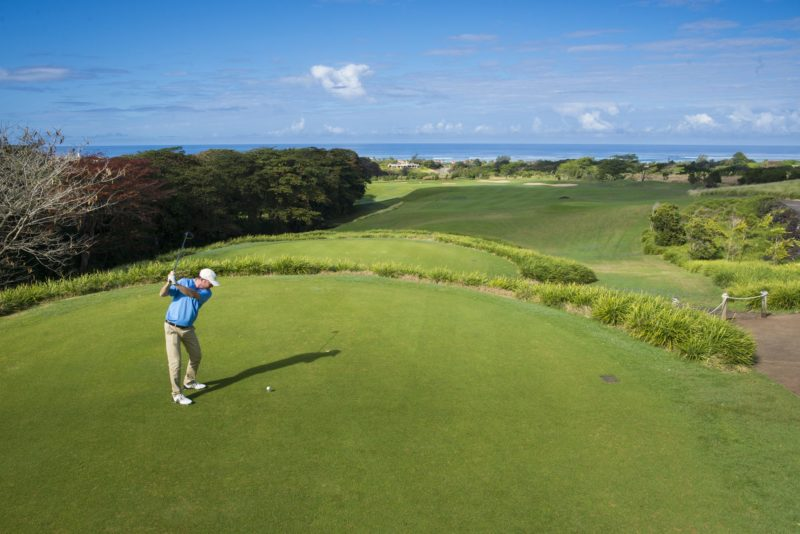 Mauritius - South Coast - 3996 - Heritage Telfair Resort & Spa - Golf Club - Tee off views