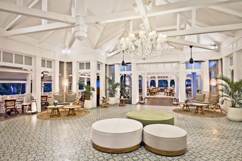 Mauritius - South Coast - 3996 - Heritage Telfair Resort & Spa - Annabella Restaurant - Reception and seating