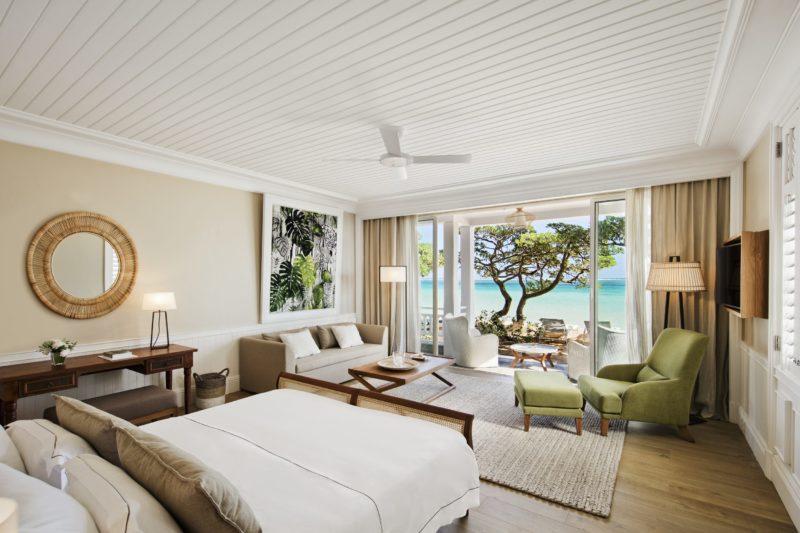 Mauritius - South Coast - 3996 - Heritage Telfair Resort & Spa - Beachfront Suite bedroom