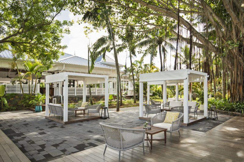 Mauritius - South Coast - 3996 - Heritage Telfair Resort & Spa - Cavendish Deck and seating