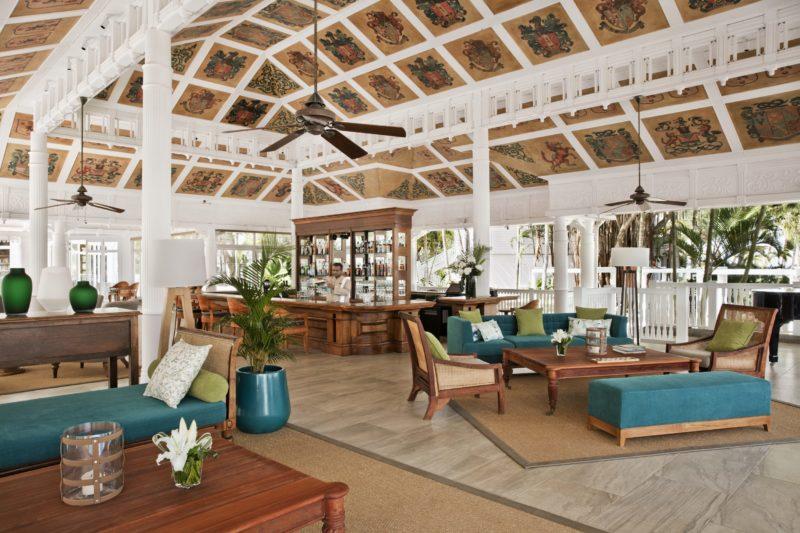 Mauritius - South Coast - 3996 - Heritage Telfair Resort & Spa - Cavendish Seating and bar