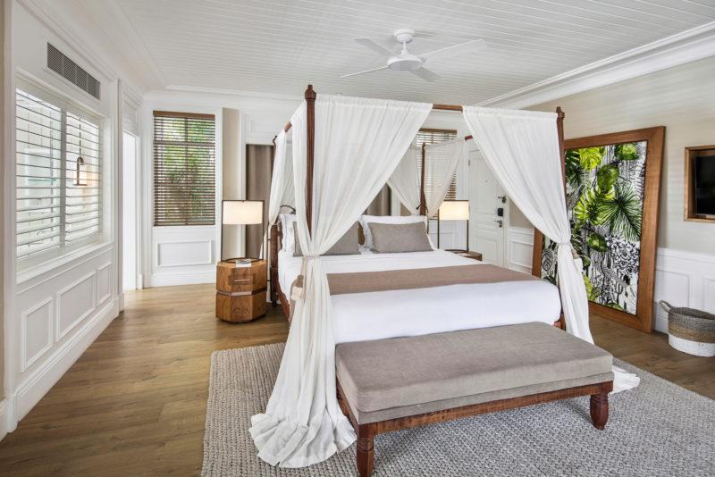 Mauritius - South Coast - 3996 - Heritage Telfair Resort & Spa - Junior Suite Garden View bedroom