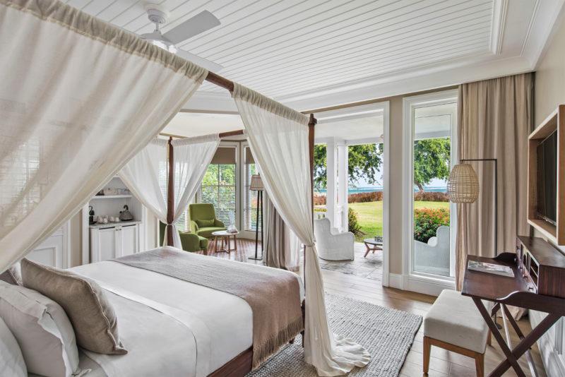Mauritius - South Coast - 3996 - Heritage Telfair Resort & Spa - Junior Suite bedroom