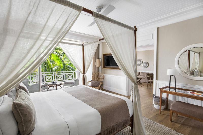 Mauritius - South Coast - 3996 - Heritage Telfair Resort & Spa - Senior Suite Garden View bedroom