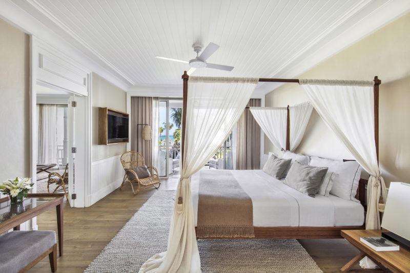 Mauritius - South Coast - 3996 - Heritage Telfair Resort & Spa - Senior Suite Sea View bedroom