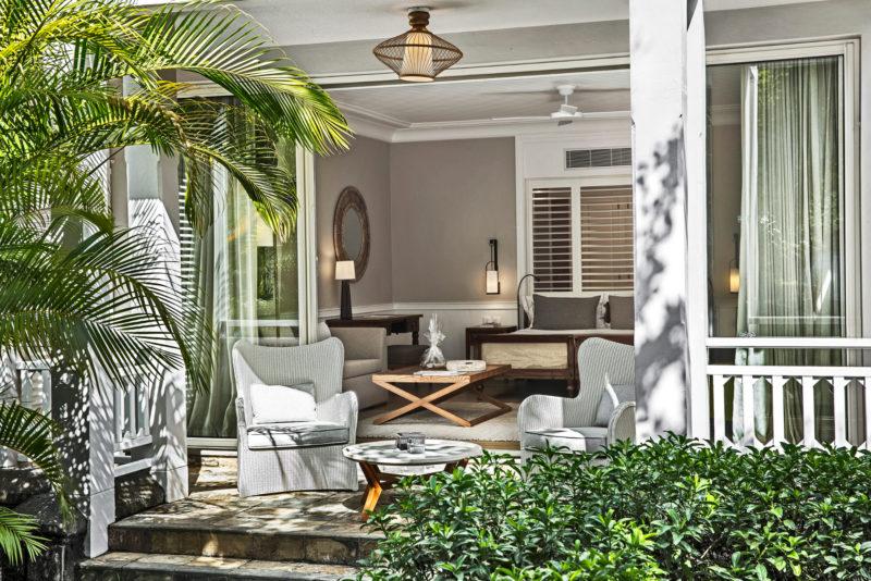 Mauritius - South Coast - 3996 - Heritage Telfair Resort & Spa - Suite Garden View -Terrace seating