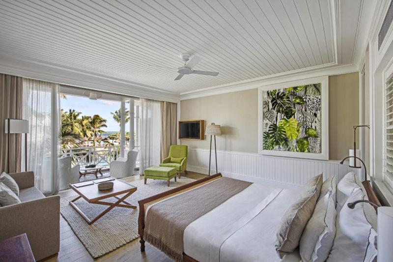 Mauritius - South Coast - 3996 - Heritage Telfair Resort & Spa - Sea View Suite - Bedroom