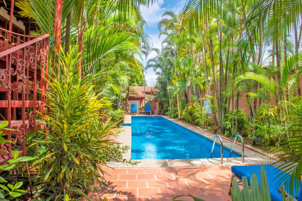 Costa Rica - Puntarenas - 1570 - Trees surrounding plunge pool