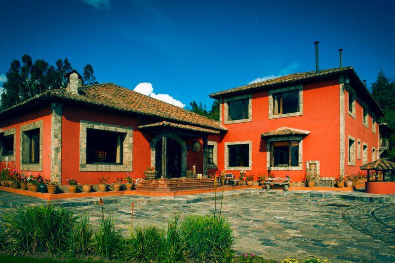 Ecuador - Cotopaxi - 1557 - Hacienda Hato Verde Exterior of Hotel
