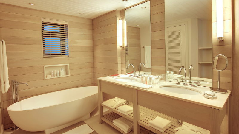 Mauritius - East Coast - 3996 - LUX* Belle Mare Resort & Villas - Junior Suite Bathroom - Vanity