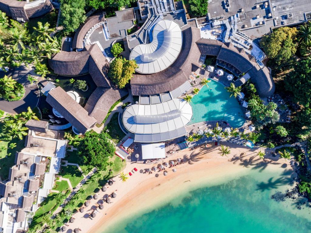 Mauritius - North Coast - 3996 - LUX* Grand Gaube Resort & Villas - View from above