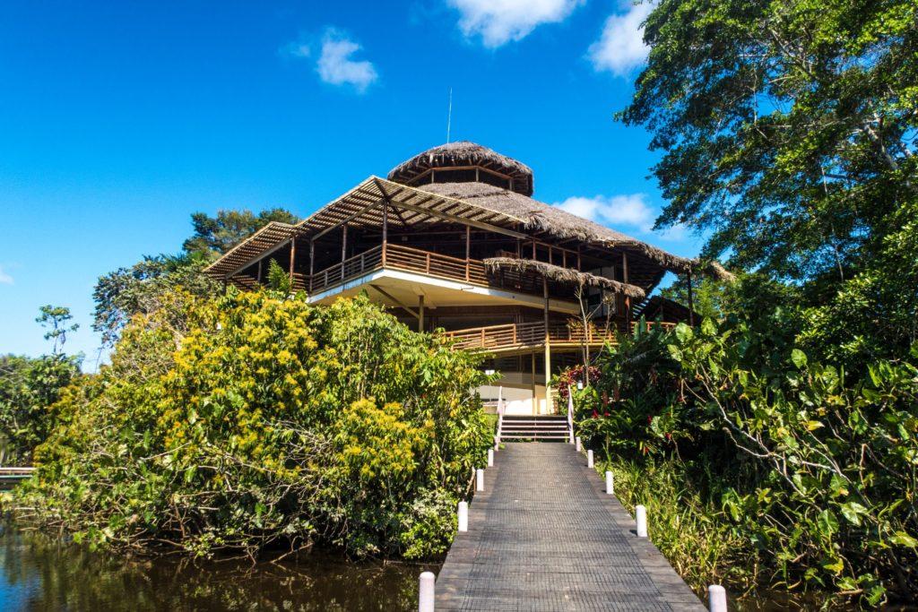 Ecuador - Quito - 1557 - La Selva Amazon Ecolodge and Spa Exterior Arrival Decking