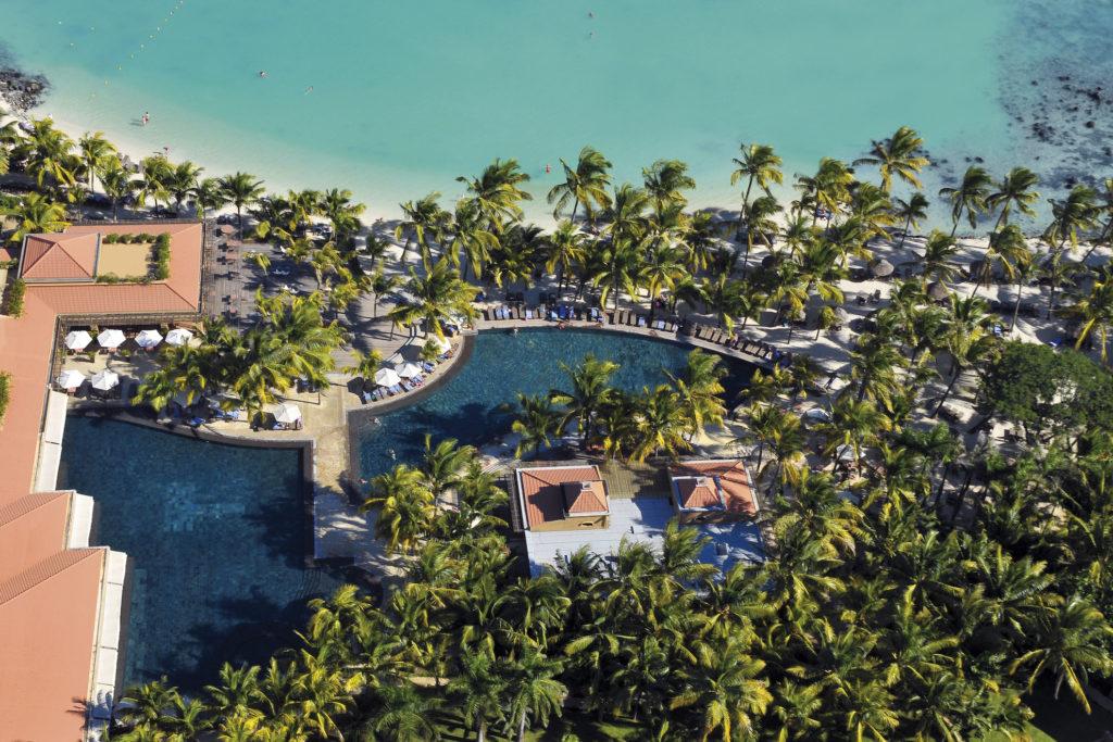 Mauritius - North Coast - 3996 - Mauricia Beachcomber aerial