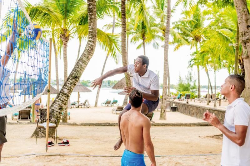 Mauritius - North Coast - 3996 - Mauricia Beachcomber Volleyball