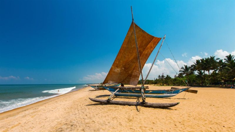 Classic Ceylon Sri Lanka - 1567 - Negombo - Traditional Fishing Boat