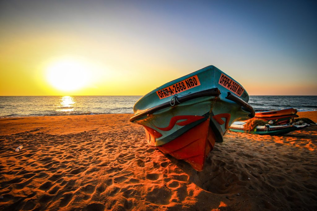 Sri Lanka - Negombo - 1567 - Boat
