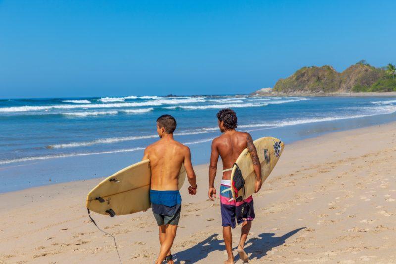 Costa Rica - Nosara - 1570 - Surfing