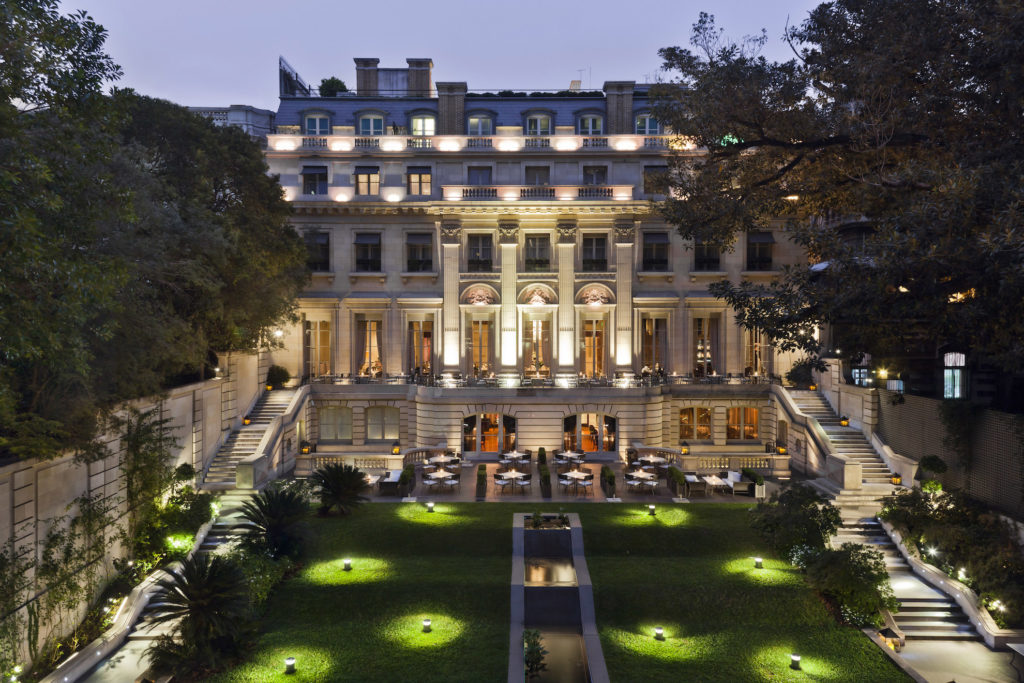 Argentina - Buenos Aires - 1584 - Palacio Duhau Park Hyatt Garden