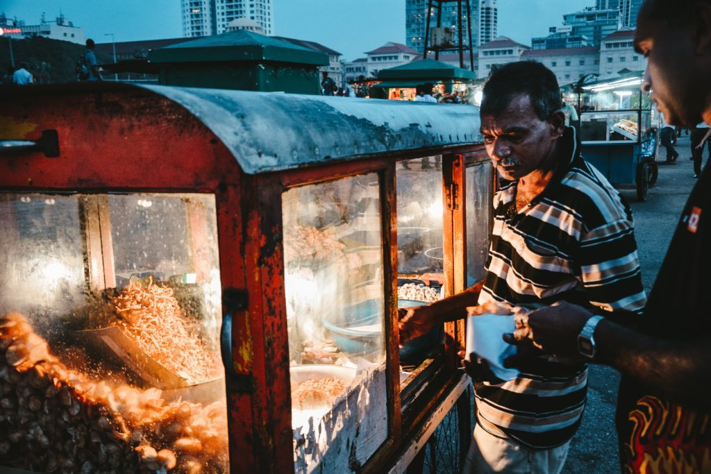 Taste of Ceylon - Sri Lanka - Kandy - 1567 - Food Stall