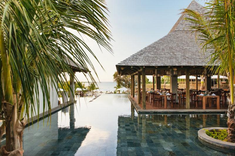 Mauritius - North Coast - 3996 - Zilwa Altitude - Karay Restaurant - Pool Views