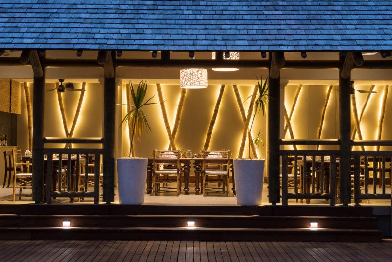 Mauritius - North Coast - 3996 - Zilwa Altitude - Siaw Restaurant - Seating