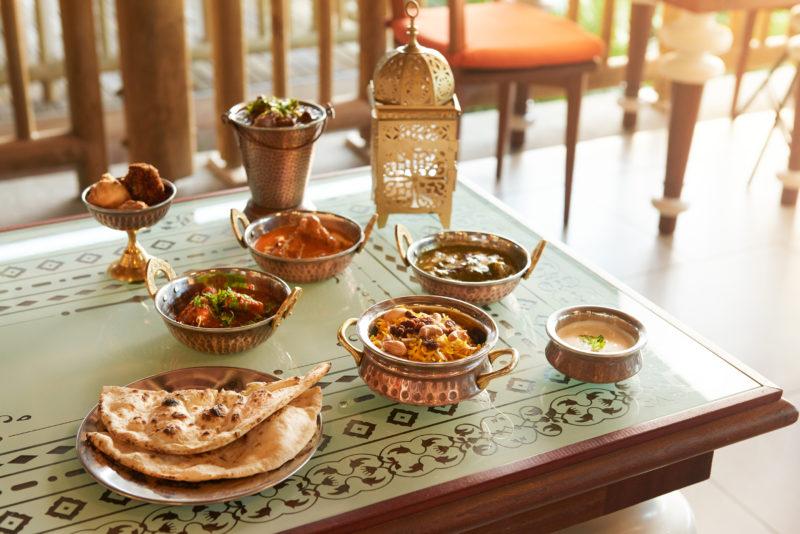 Mauritius - North Coast - 3996 - Zilwa Altitude - Tadka Restaurant - Food Display