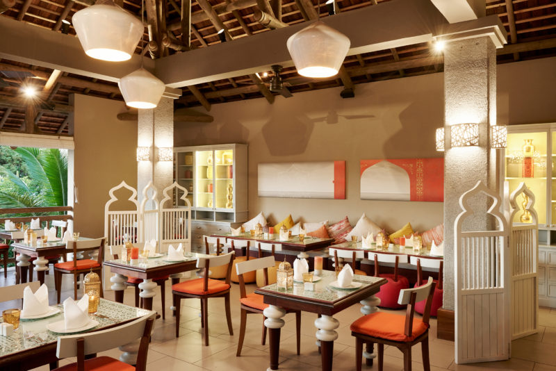 Mauritius - North Coast - 3996 - Zilwa Altitude - Tadka Restaurant - Seating