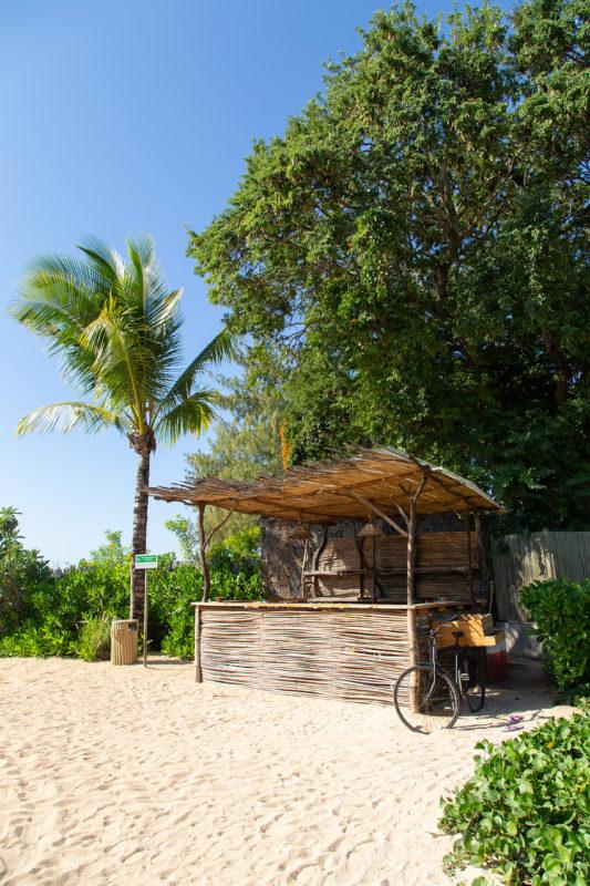 Mauritius - North Coast - 3996 - Zilwa Altitude - Beach bar