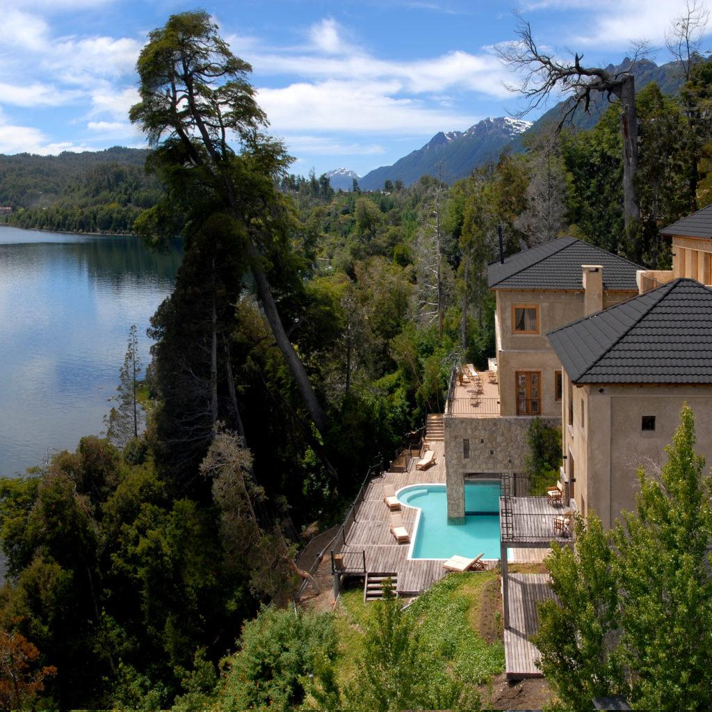 Argentina - Villa La Angostura - 1584 - Luma Casa de Montaña Pool with Lake Views
