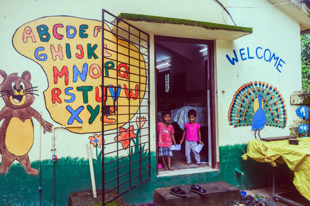 School Building in Goa, India