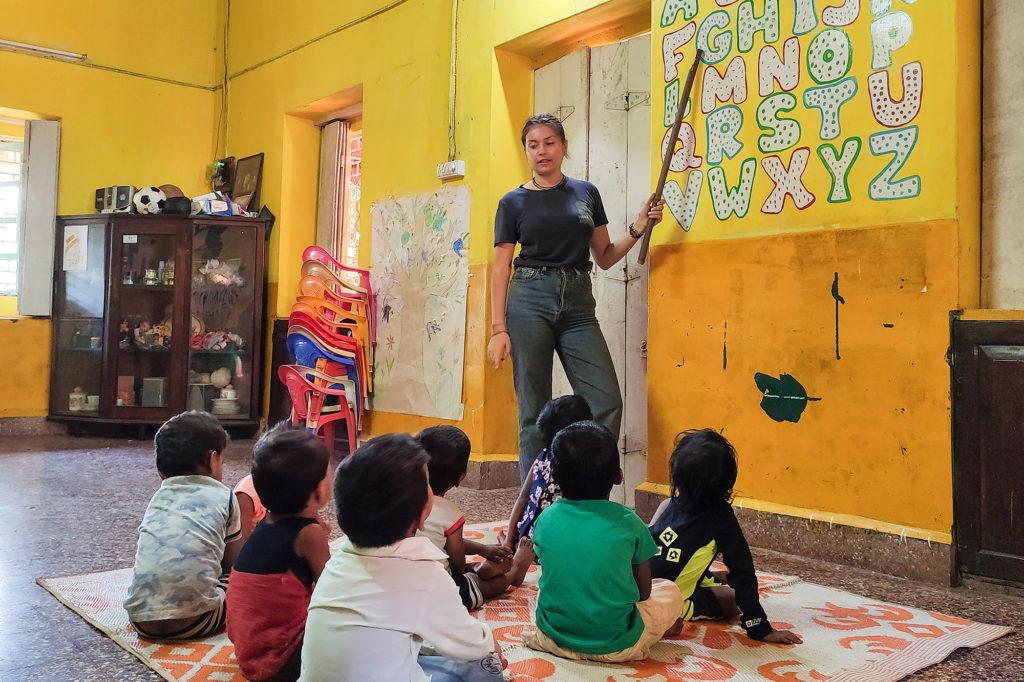 Teach Kids Alphabet in Goa, India
