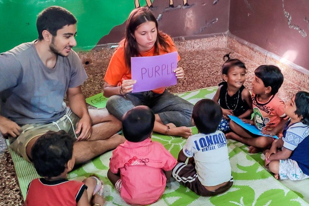 Teach Kindergarten Kids in Goa, India