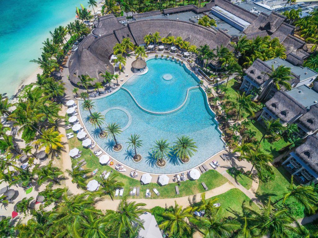 Mauritius - East Coast - 3996 - LUX* Belle Mare Resort & Villas - Aerial view