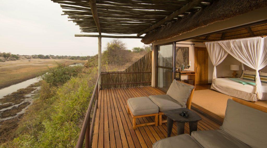 Botswana Desert to Delta - 1553 - Leroo Le Tau - Decking Views - Lounge Seats