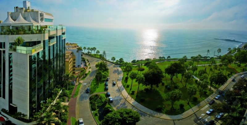 Peru - Lima - 1559 - Belmond Miraflores Park - Sea Views