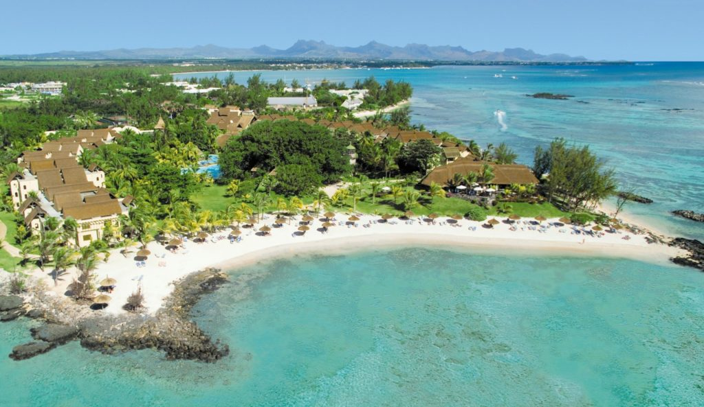 Canonnier Beachcomber Golf Resort & Spa Mauritius from above