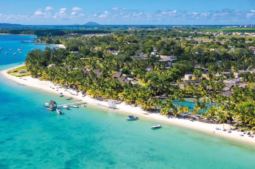 Trou aux Biches Beachcomber Golf Resort & Spa Mauritius from above