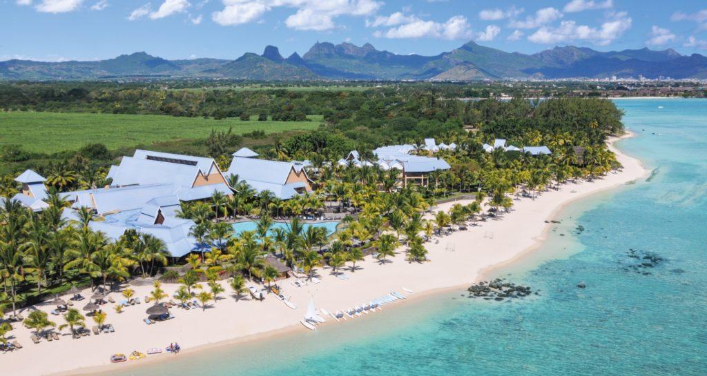Victoria Beachcomber Resort & Spa Mauritius from above