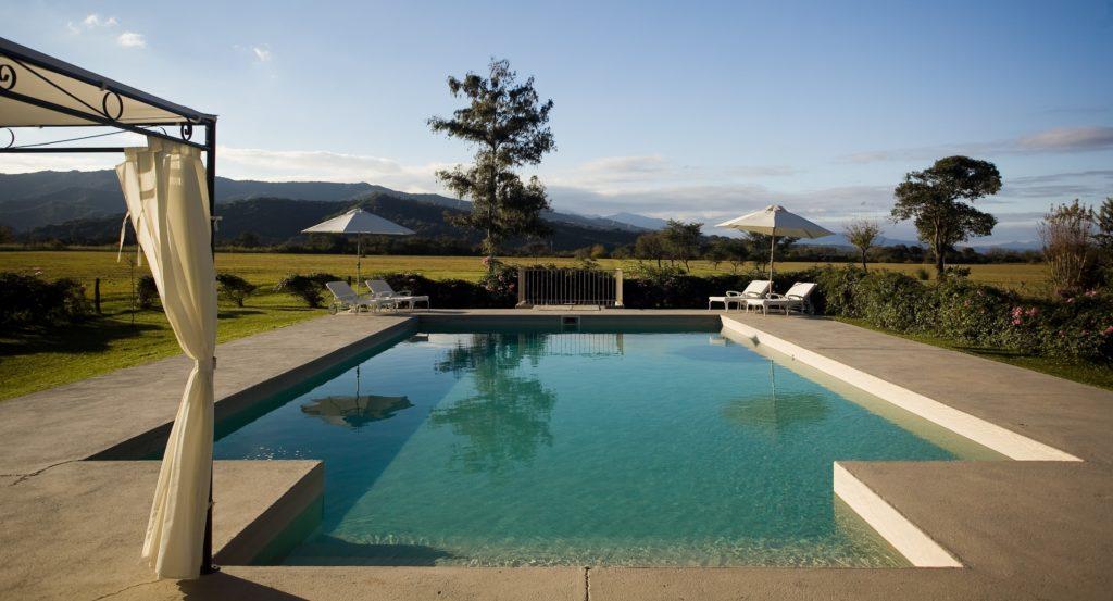 Argentina - NOA Salta - 1584 - House of Jasmines Swimming Pool Views